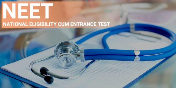 neet exam application form apply online